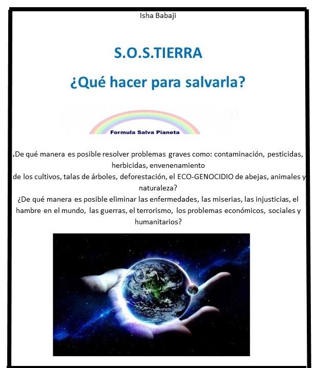 Ebook S.O.S. Tierra